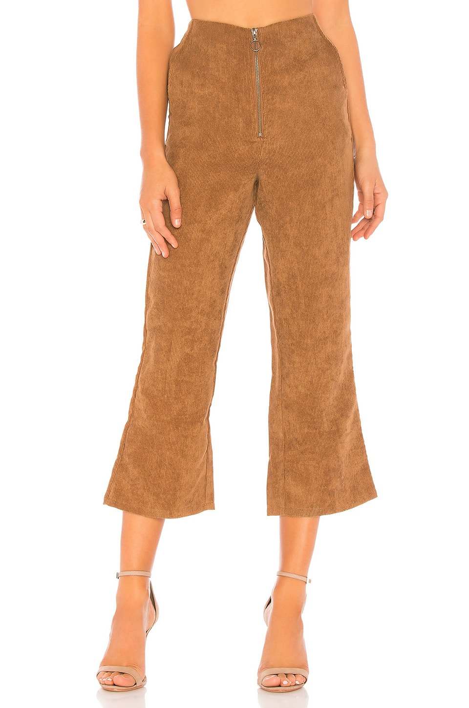 Tularosa Rachel Corduroy Pants in Toffee