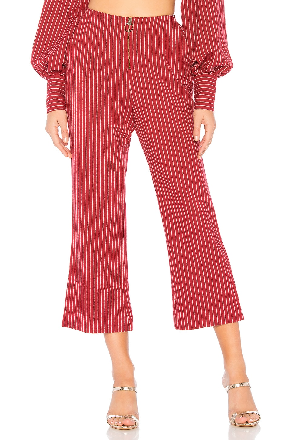 Tularosa Rachel Pant in Ruby Red