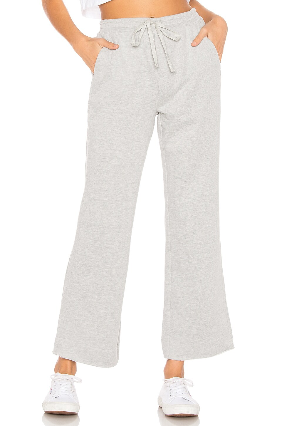 Tularosa Evie Sweatpants in Heather Grey
