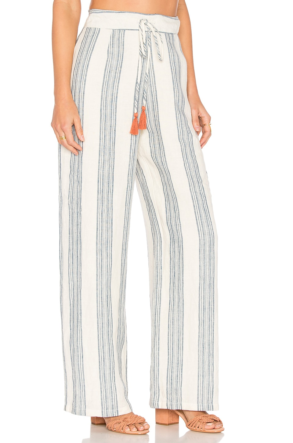 Tularosa Marley Pants in Chambray Stripe