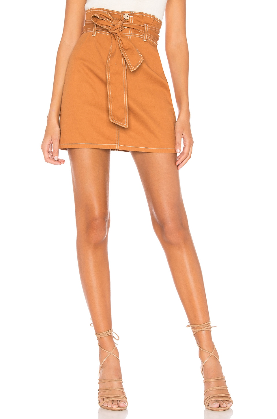 Tularosa Normandy Skirt in Rust