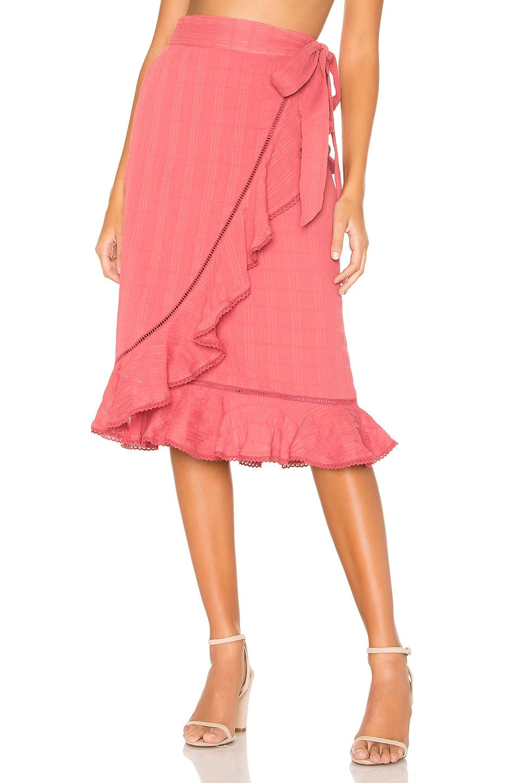 Tularosa Laguna Skirt in Deep Rose