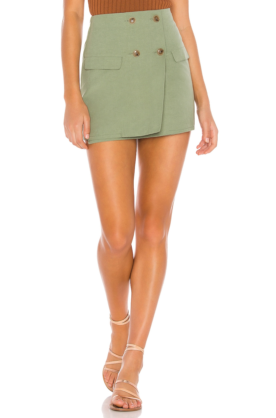 Tularosa Brandy Skirt in Sage