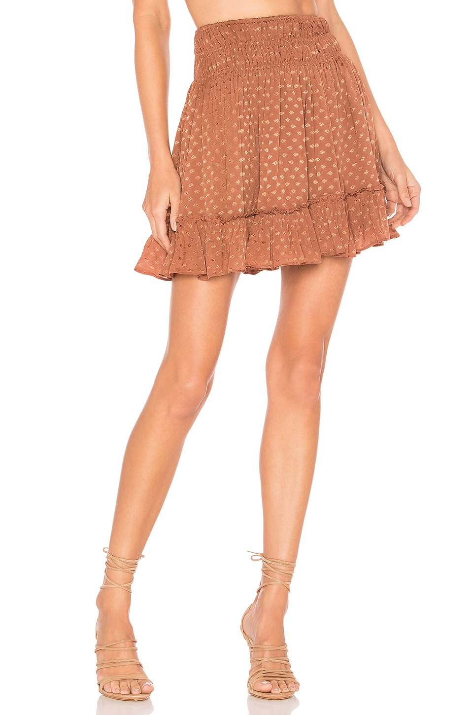 Tularosa Mae Skirt in Copper