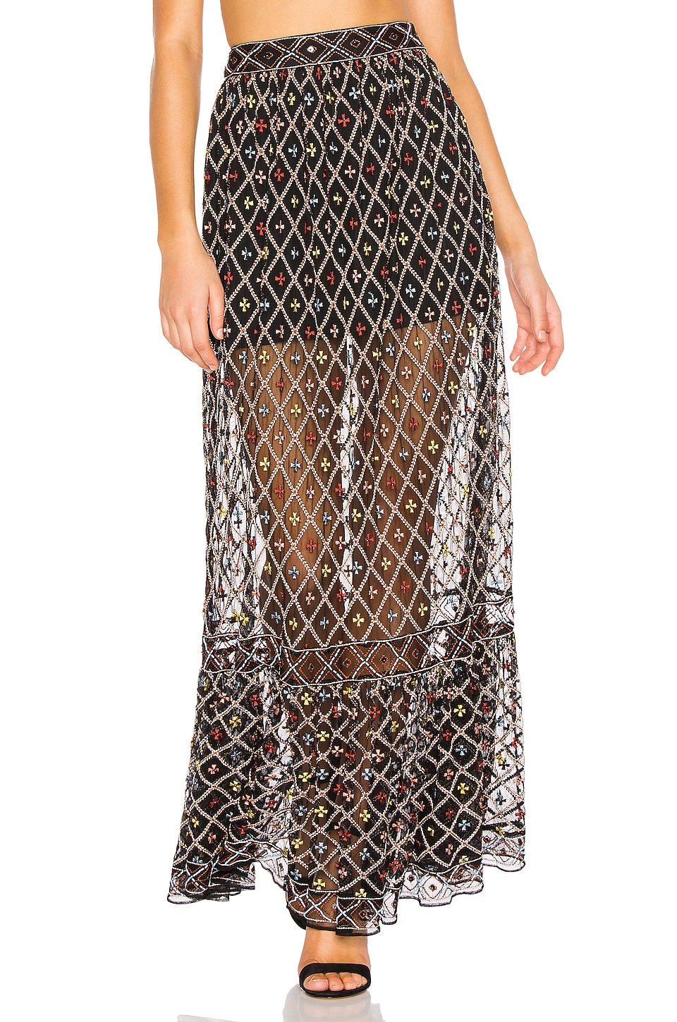 Tularosa Lexi Skirt in Black