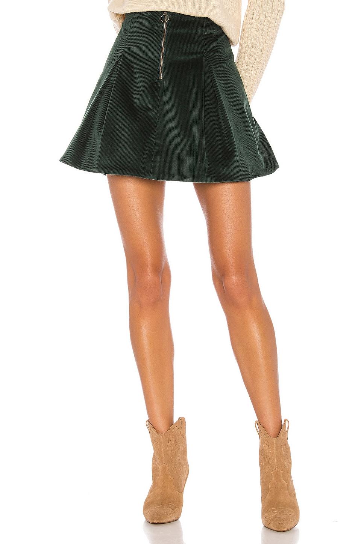 Tularosa Kendall Skirt in Emerald