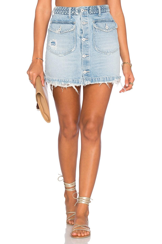 tularosa madelyn mini skirt in miami revolve