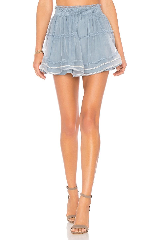 Tularosa Delany Skirt in Vintage Blue