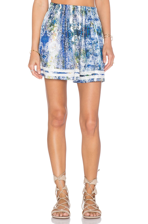 Tularosa Carter Skirt in Blue Multi