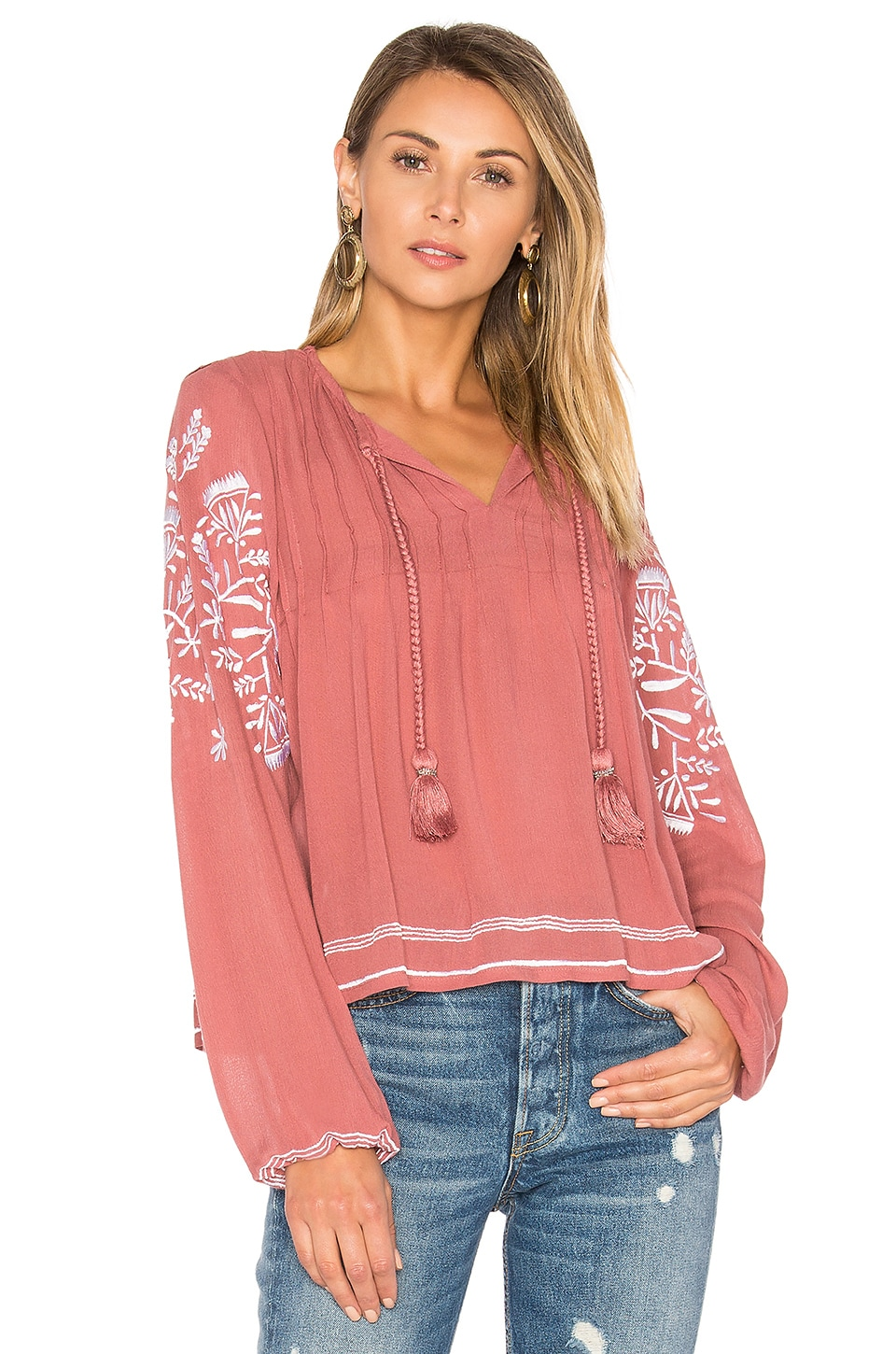 Rose Top by Tularosa