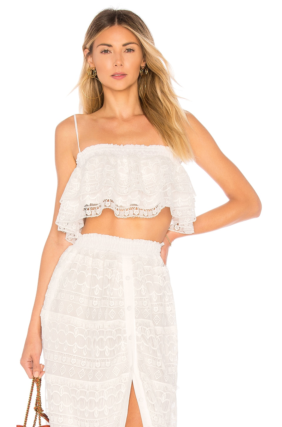 Tularosa Stella Top in White