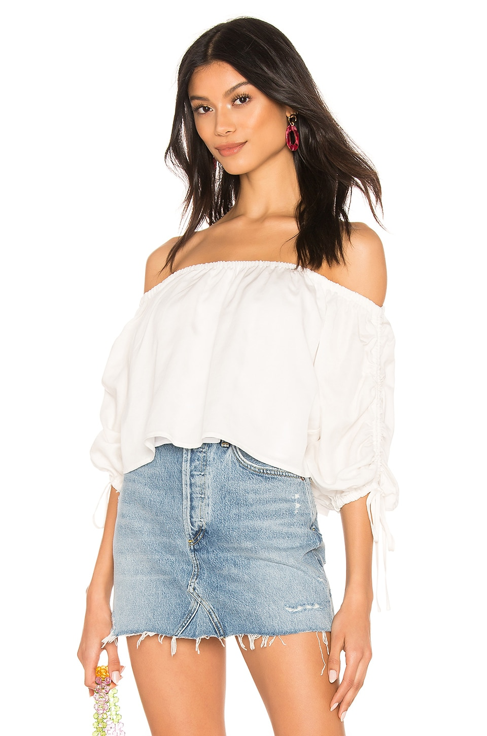 Tularosa Koko Top in White
