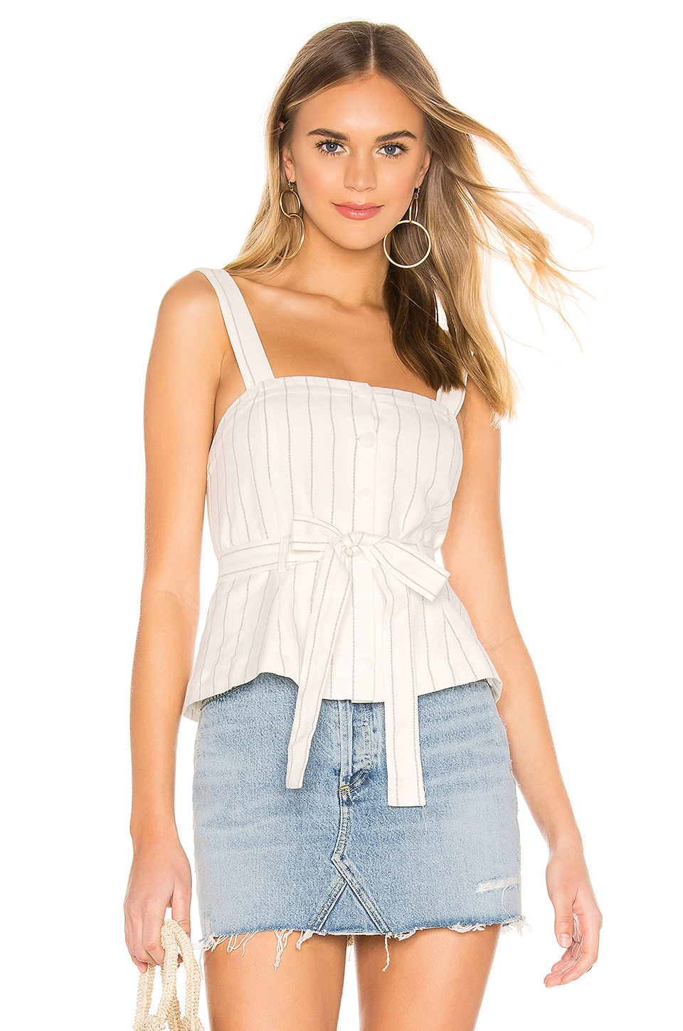 Tularosa Lovers Dream Top in White