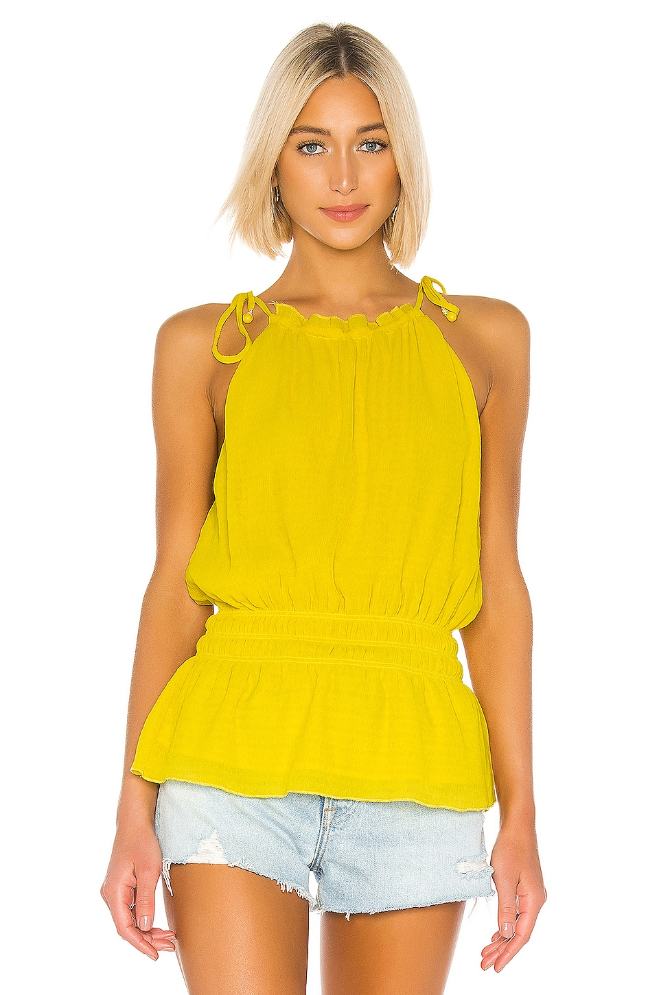Tularosa Lilo Top in Vibrant Yellow