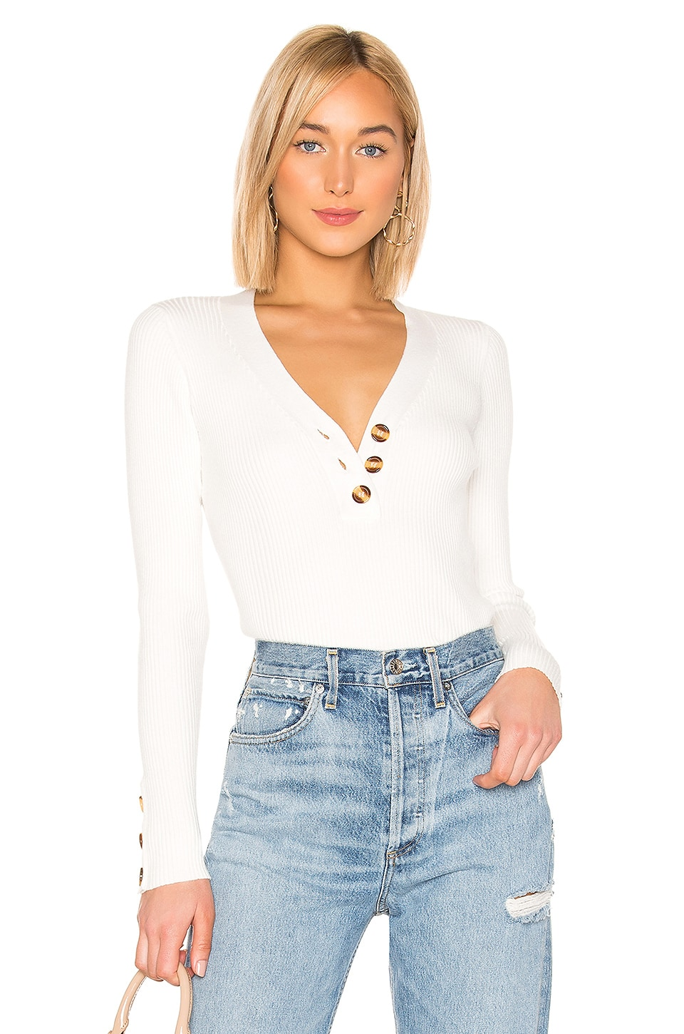 Tularosa Rakel Sweater in White