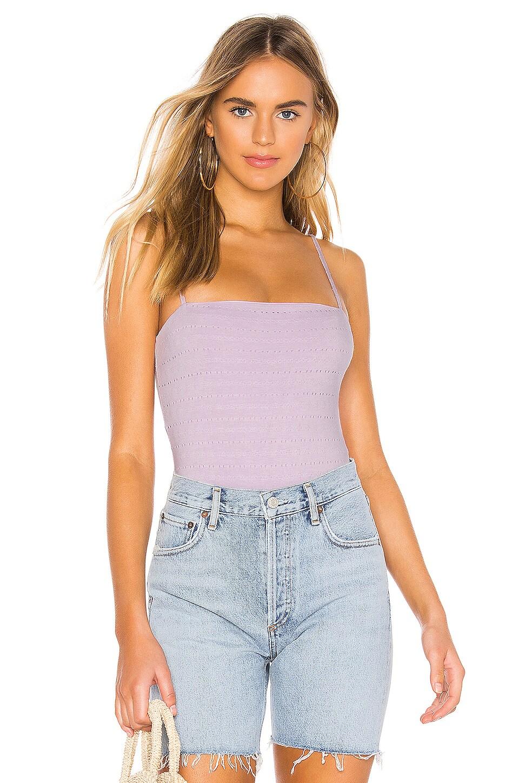 Tularosa Milan Bodysuit in Lavender