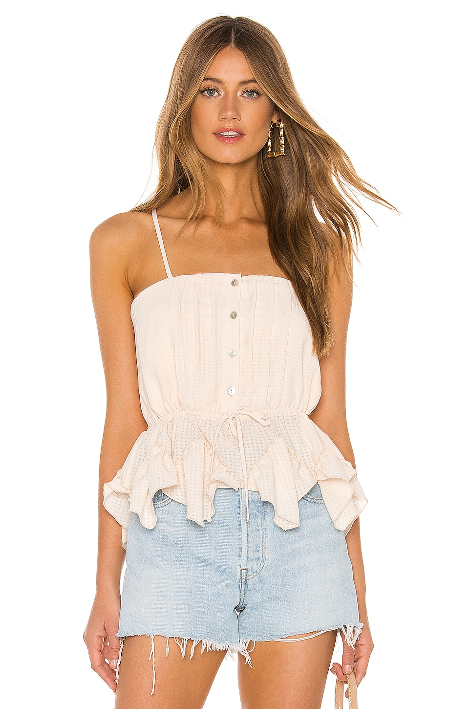 Tularosa Ellison Top in Creme