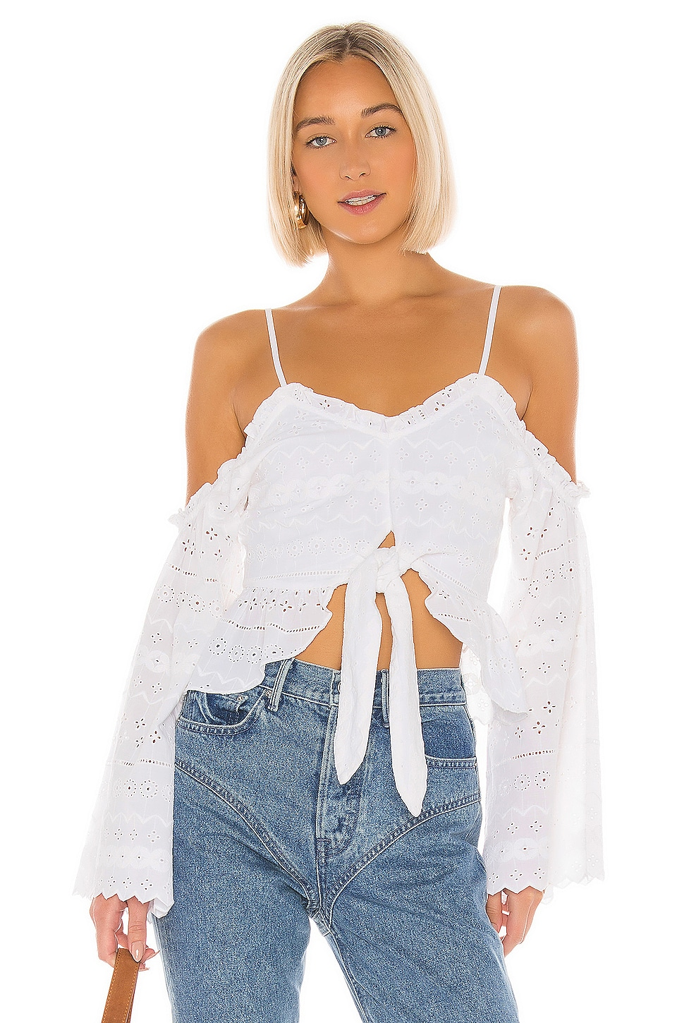Tularosa Joyce Top in White