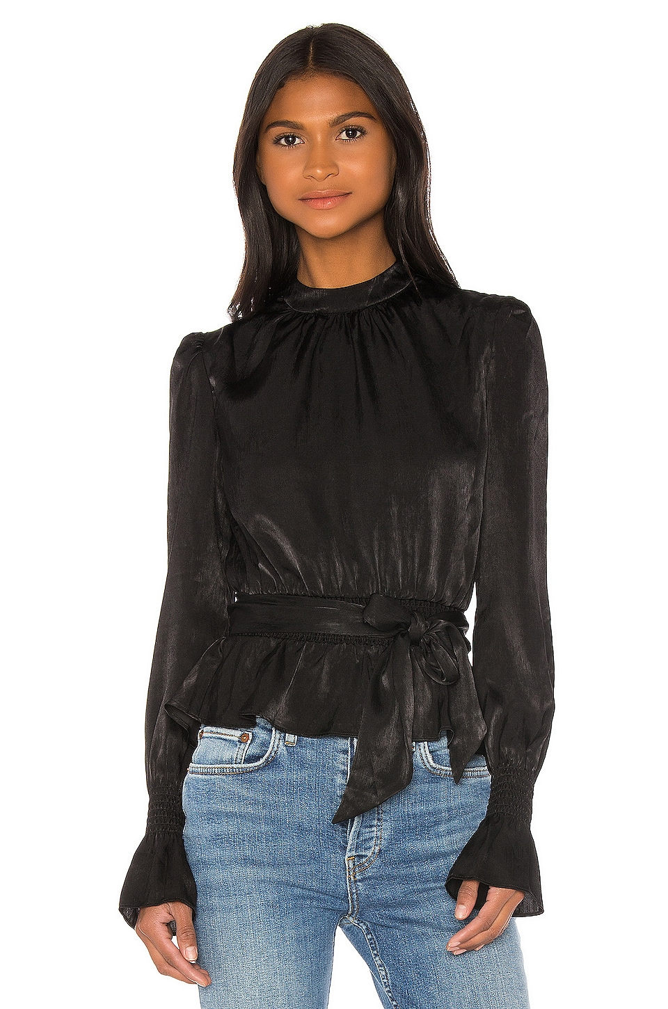 Tularosa Rein Top in Black