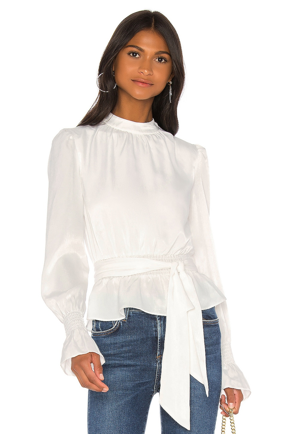 Tularosa Rein Top in Ivory