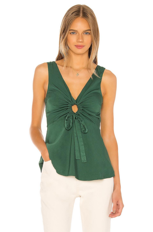 Tularosa Avalynn Top in Emerald Green