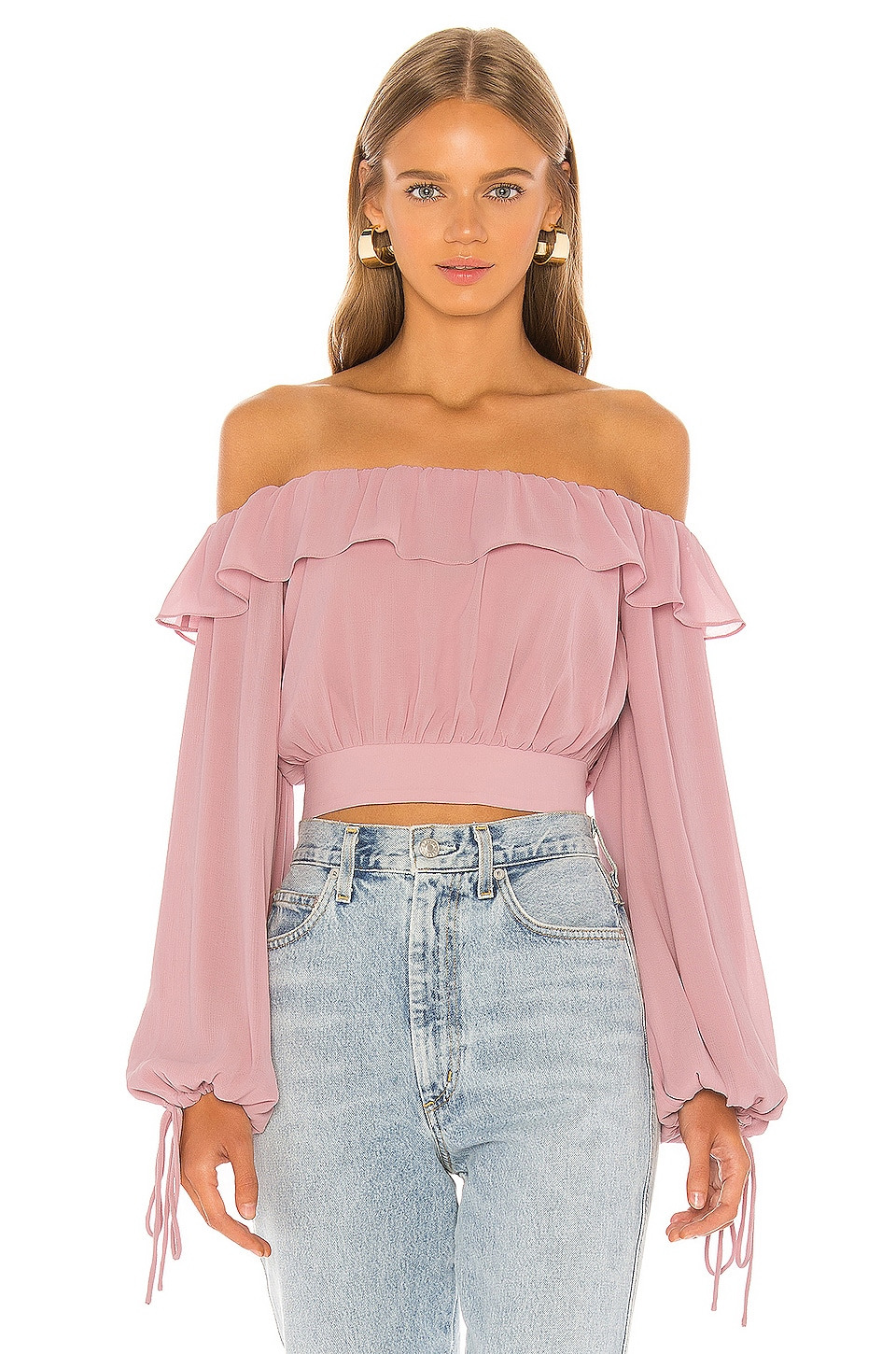 Tularosa Lina Top in Pink