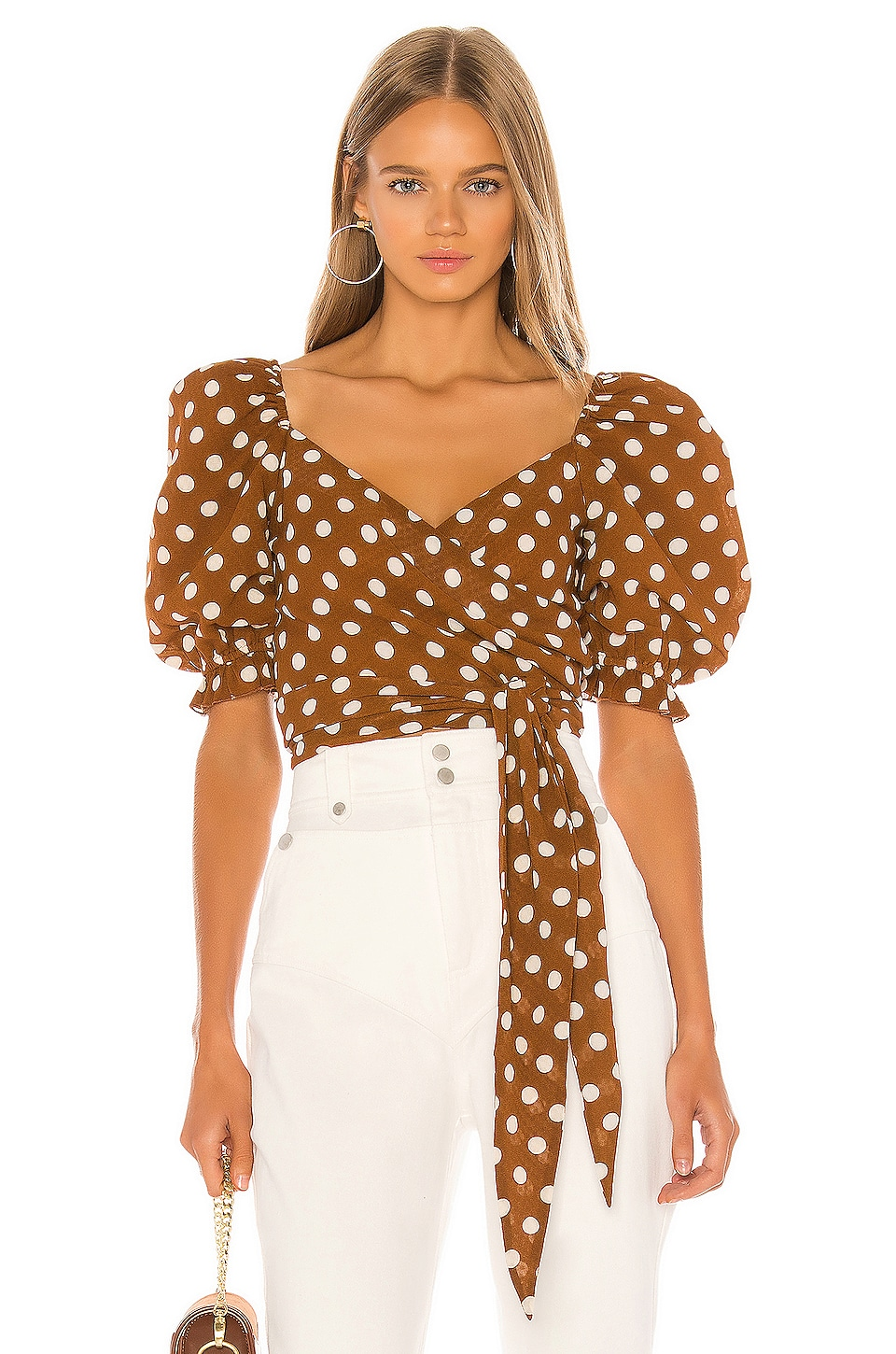 Tularosa Pier Top in Brown
