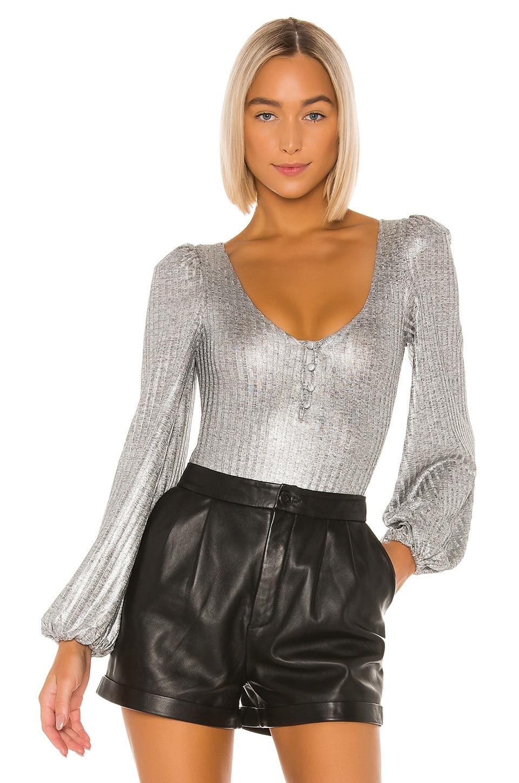 Tularosa Summer Bodysuit in Silver