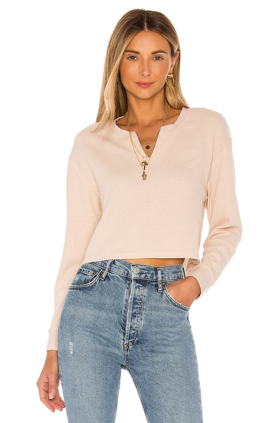Tularosa The Bette Top en Eggshell White