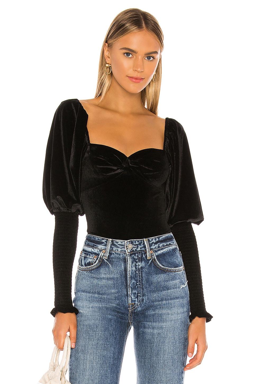 Tularosa Brynlee Bodysuit in Black
