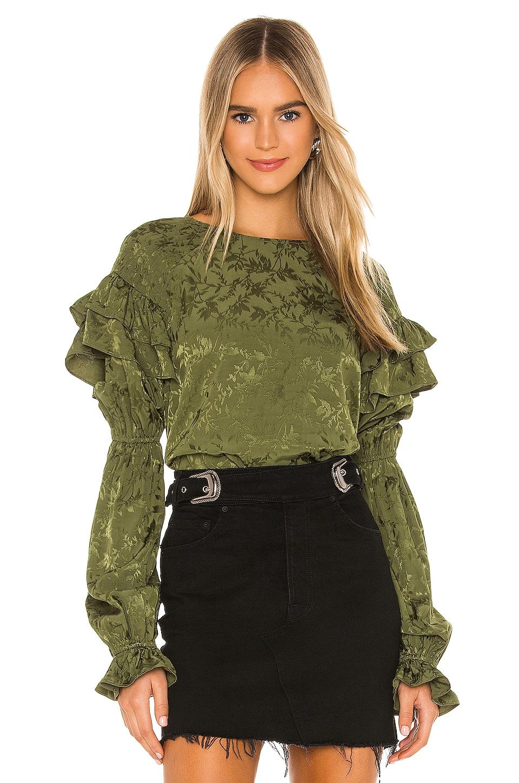 Tularosa Eloise Top en Olive Green