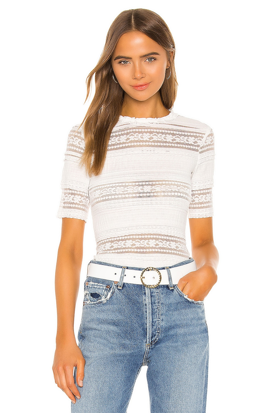 Tularosa Wallace Top in White