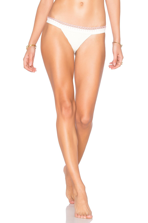 Tularosa Lexi Bikini Bottom in Ivory