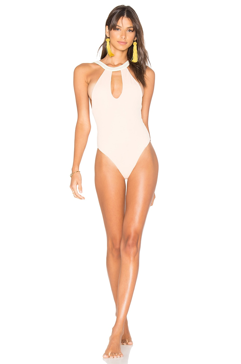 Tularosa Etro One Piece in Light Coral