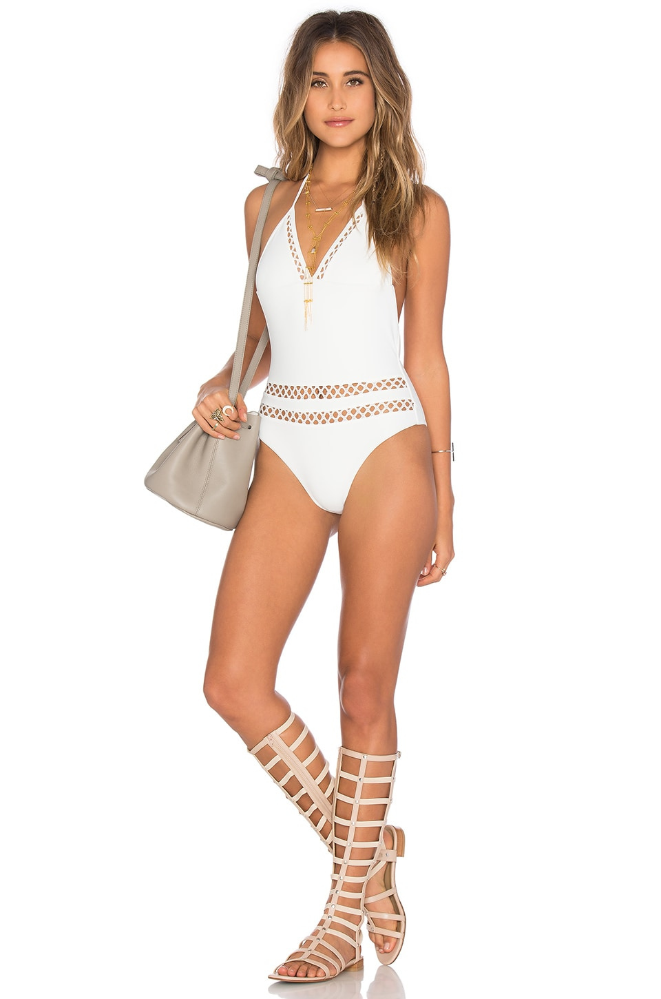 Tularosa Dylan One Piece in Ivory