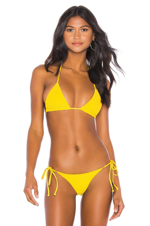 Tularosa Britt Top en Yellow