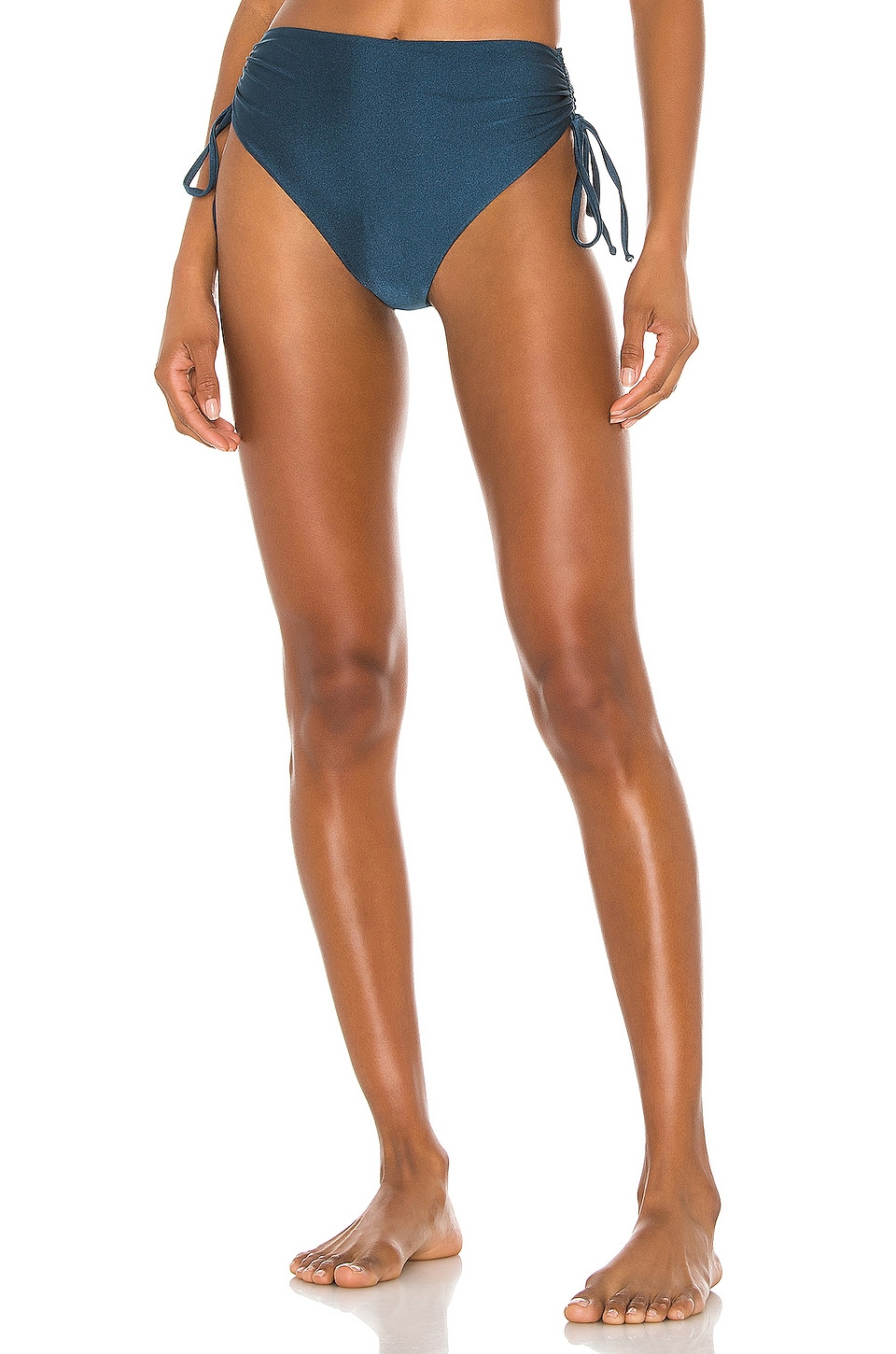 Tularosa Rini High Waist Bottom in Deep Sea