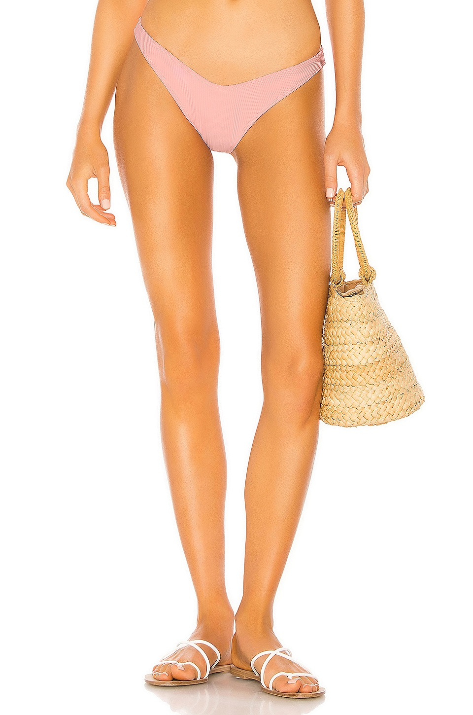Tularosa Crescent Bay Bottom in Candy Pink