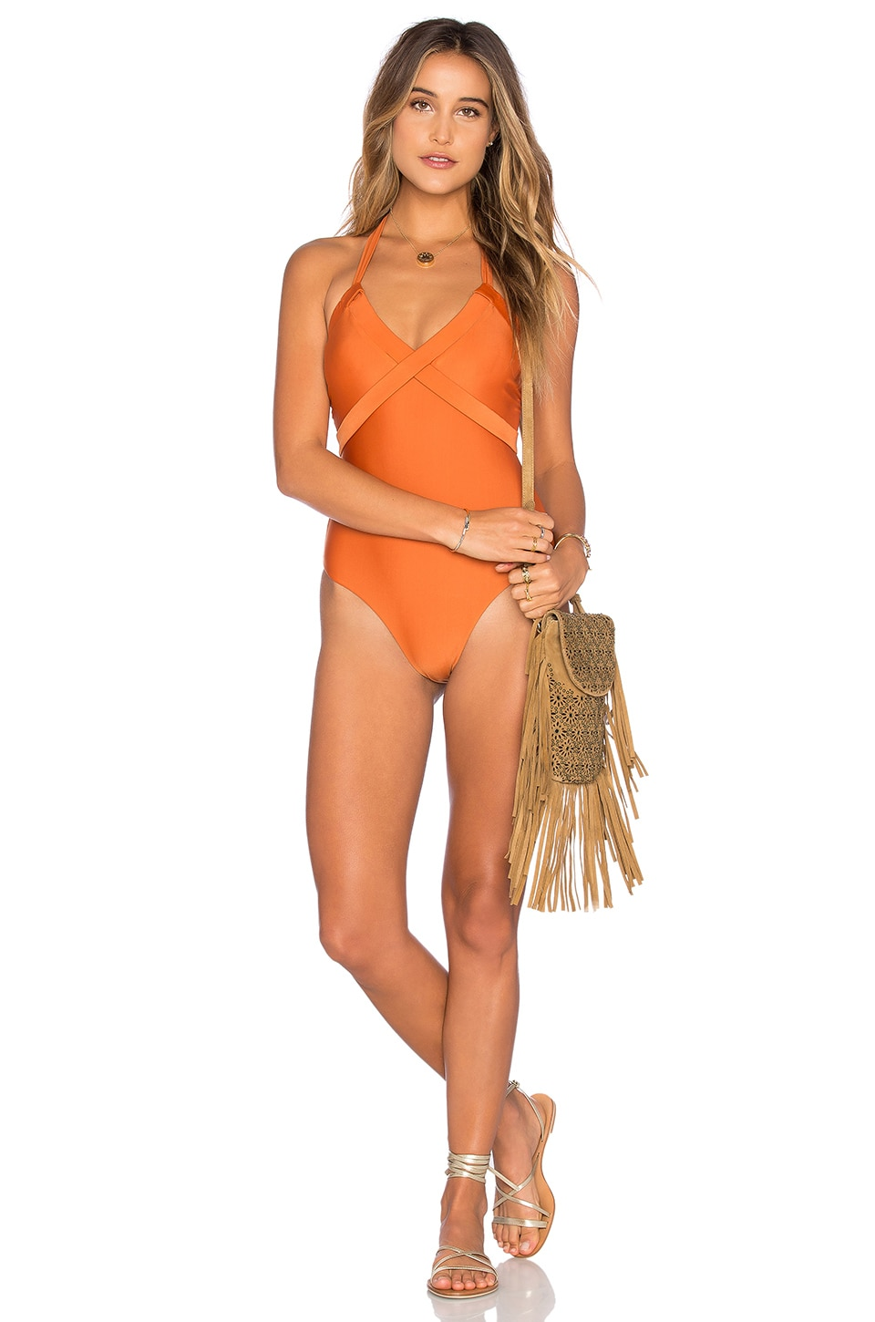 Tularosa Edie One Piece in Redstone