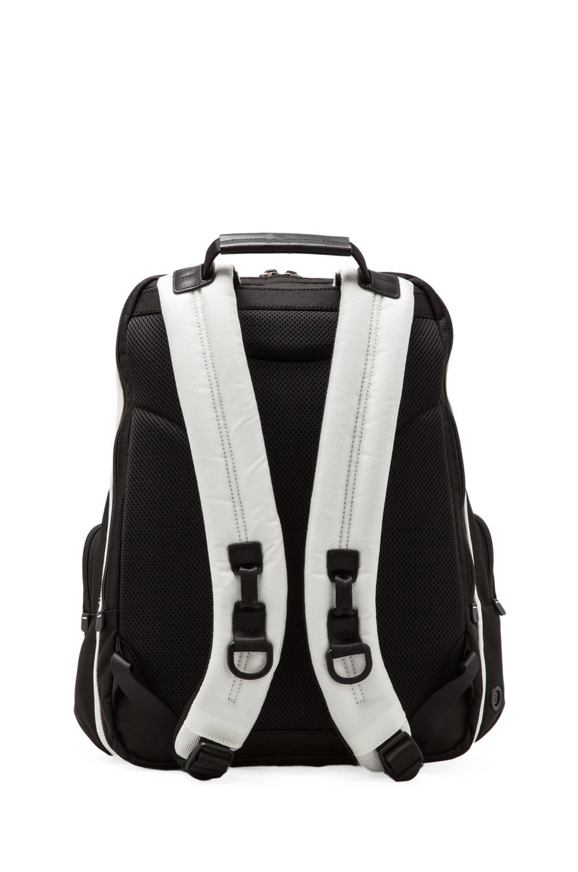 Tumi Alpha Bravo Knox Backpack in White/Black