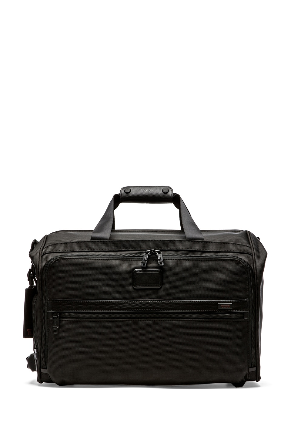 Tumi Alpha 2 Travel Framed Soft Duffle in Black