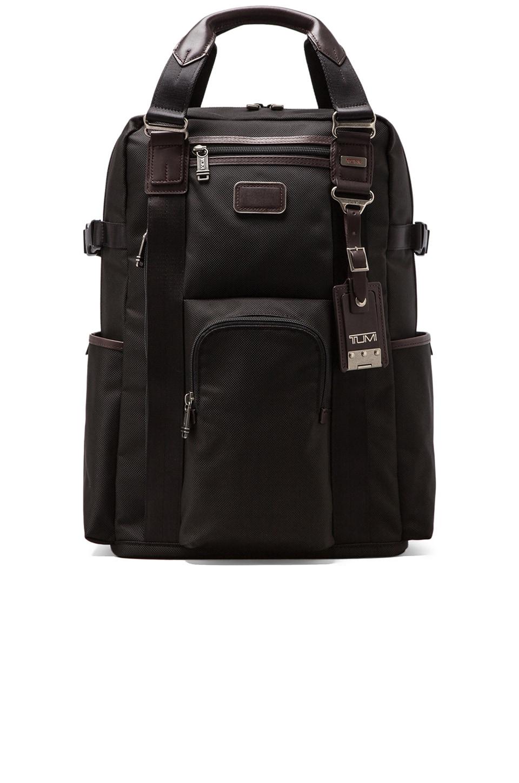 Tumi Alpha Bravo Ballistic Nylon Lejeune Backpack Tote en Hickory