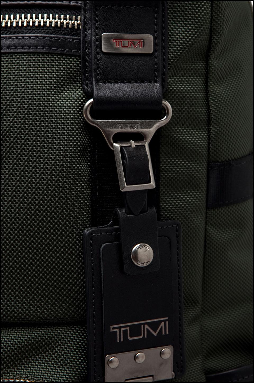 Tumi Alpha Bravo Lejeune Backpack Tote in Spruce