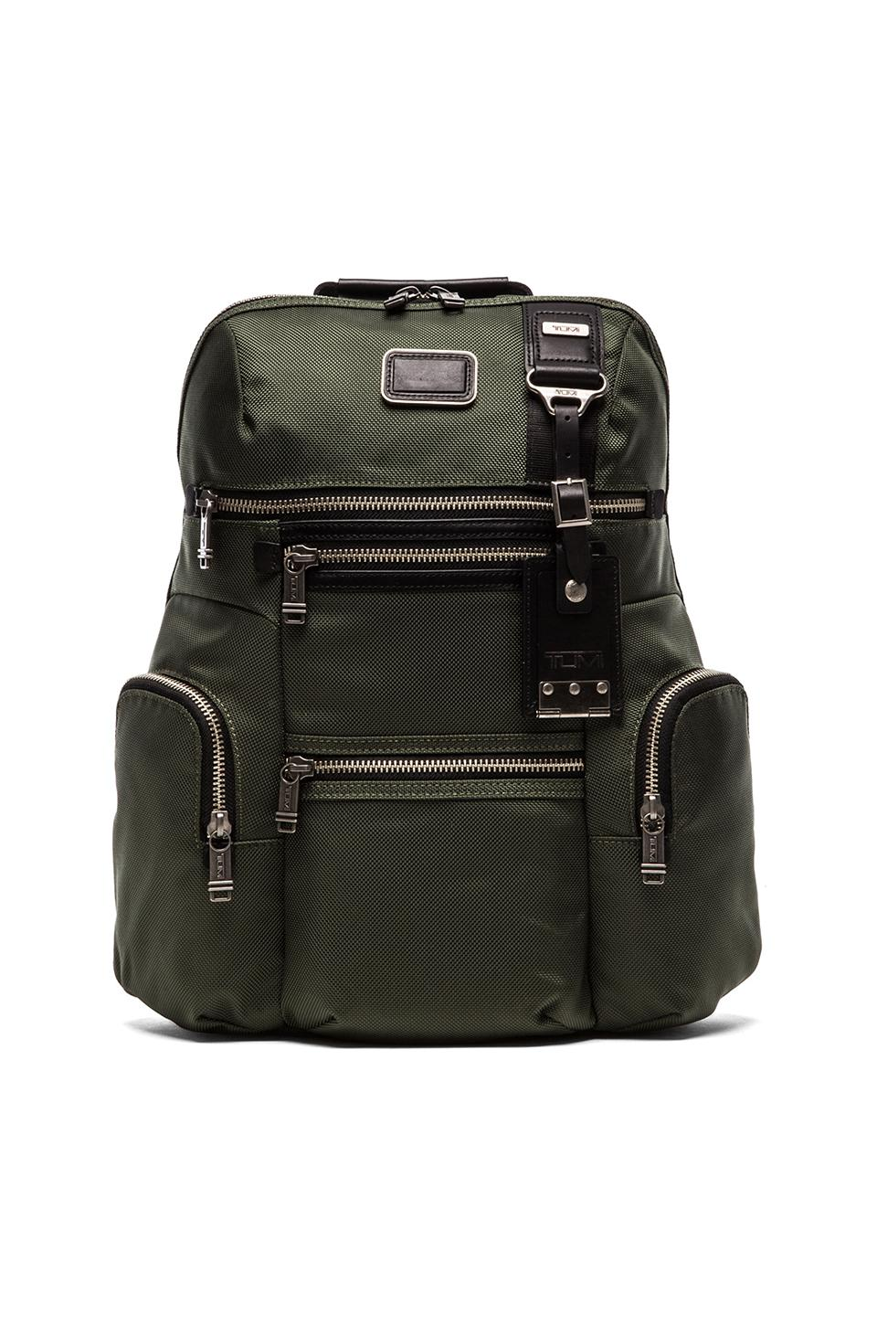 Tumi Alpha Bravo Ballistic Nylon Knox Backpack in Spruce