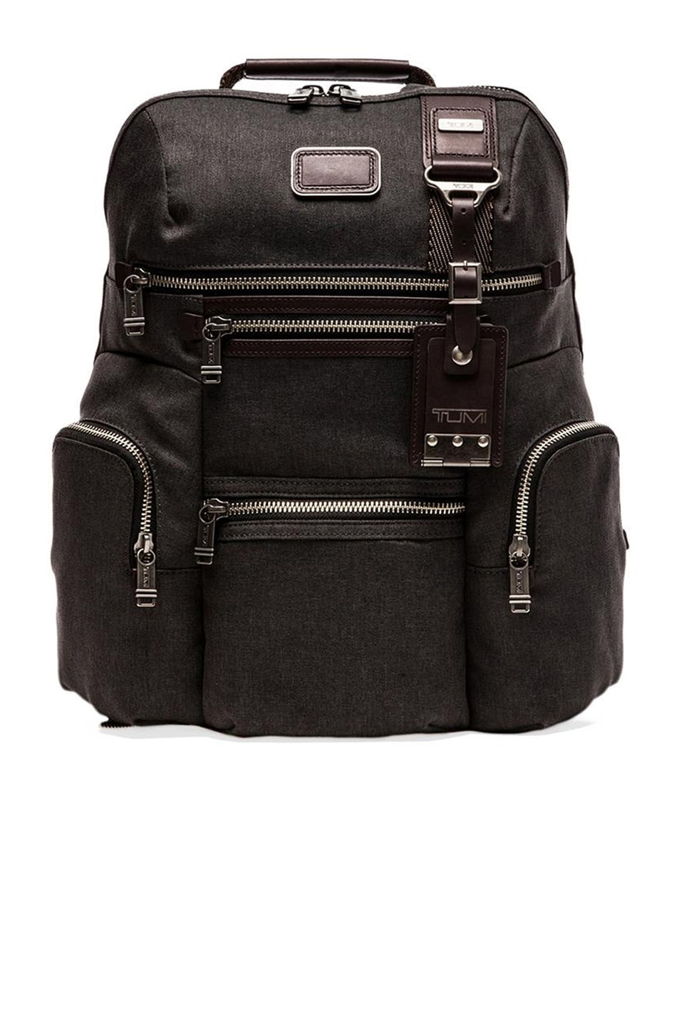 Tumi Alpha Bravo Ballistic Nylon Knox Backpack en Anthracite