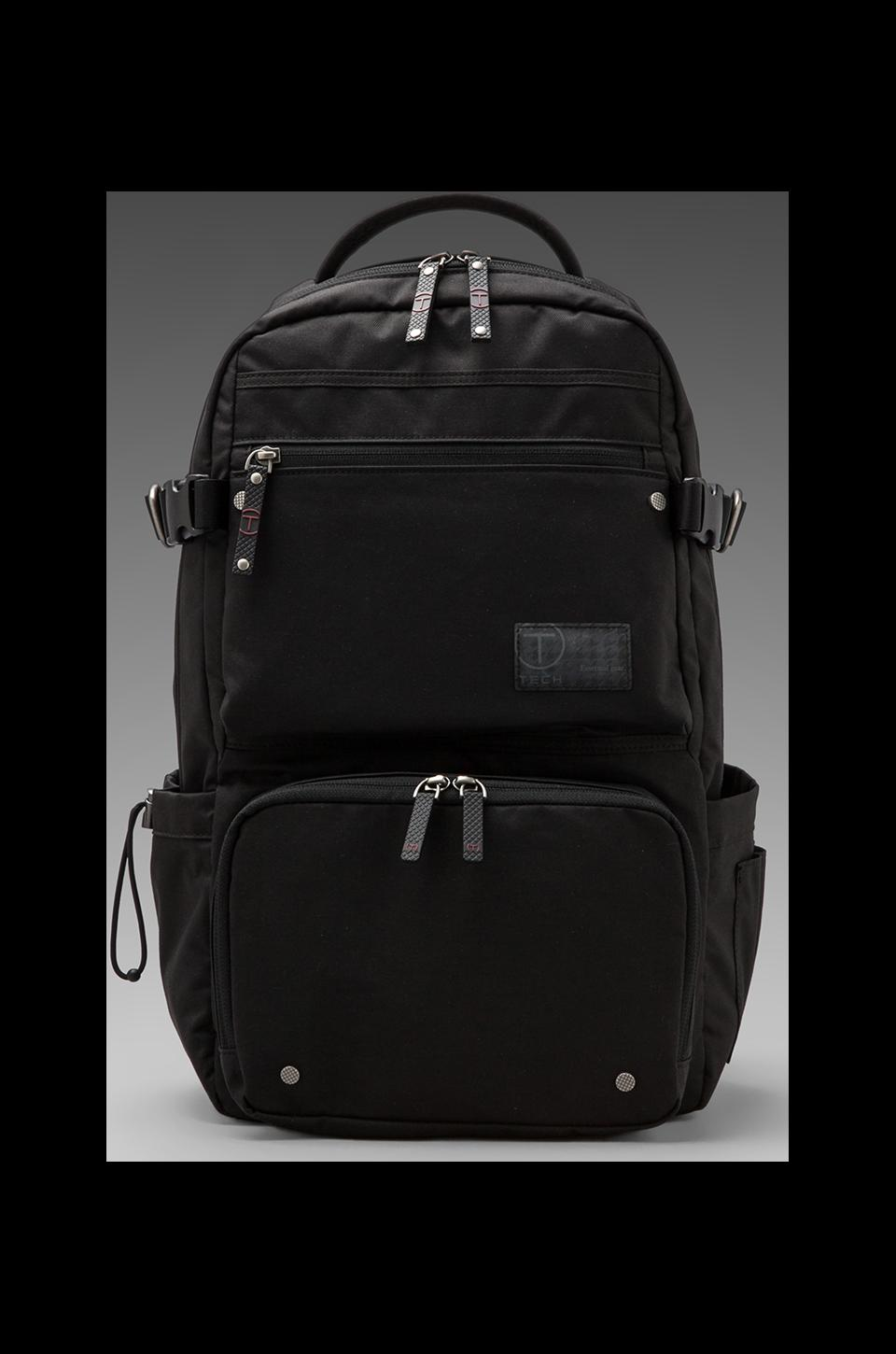 Tumi Melville Zip Top Brief Pack in Jet