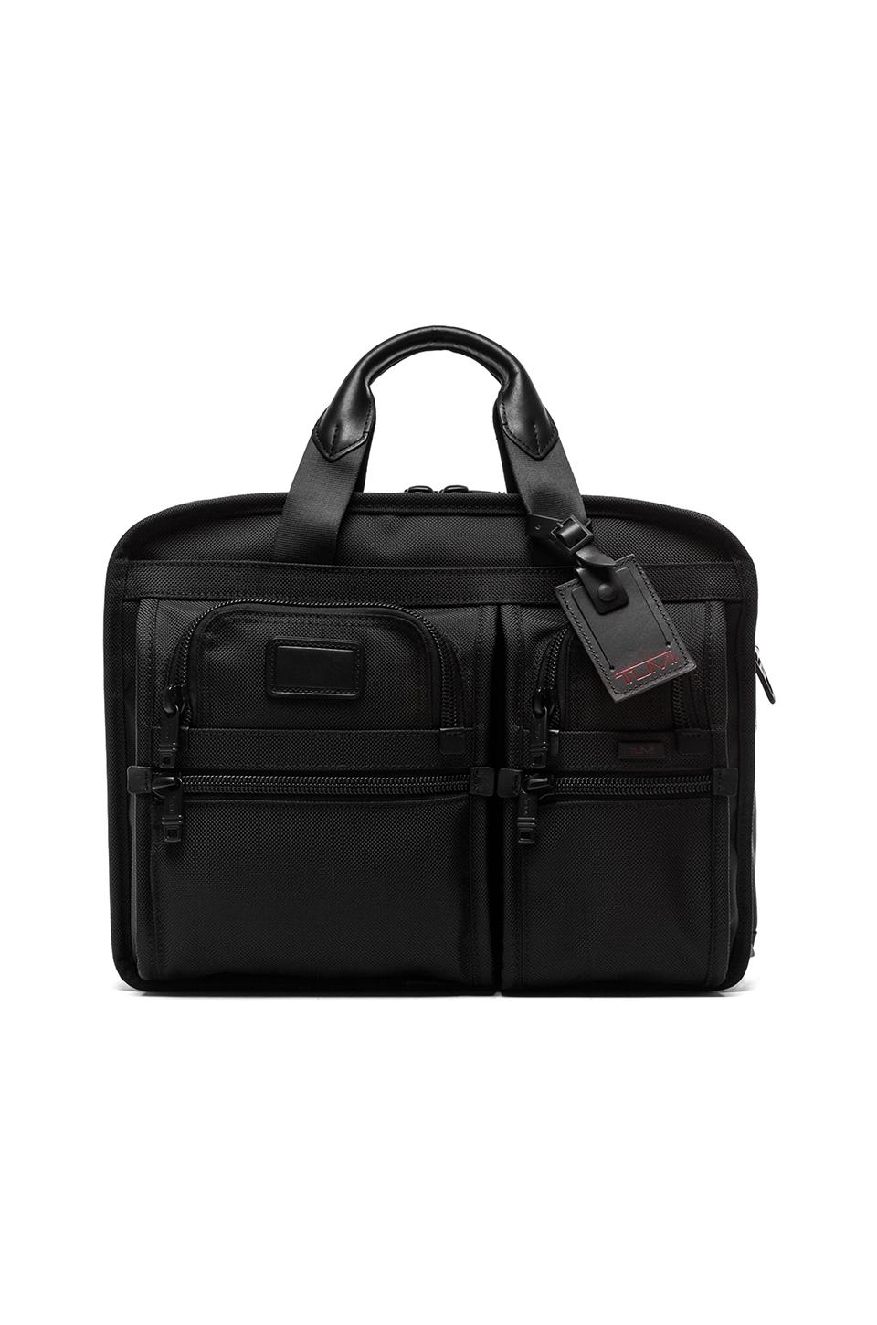 Tumi T-Pass Expandable Laptop Brief in Black
