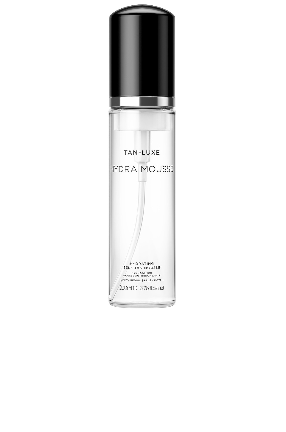Tan Luxe Hydra-Mousse Hydrating Self-Tan Mousse in Light / Medium