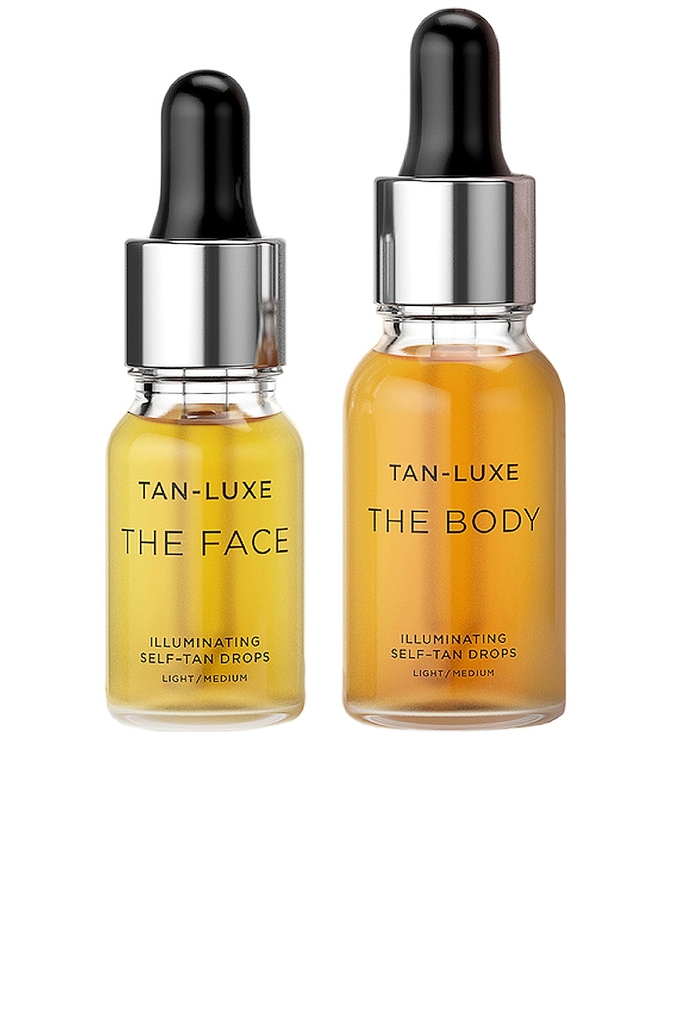 Tan Luxe The Glow Edit Gift Set in Light/Medium