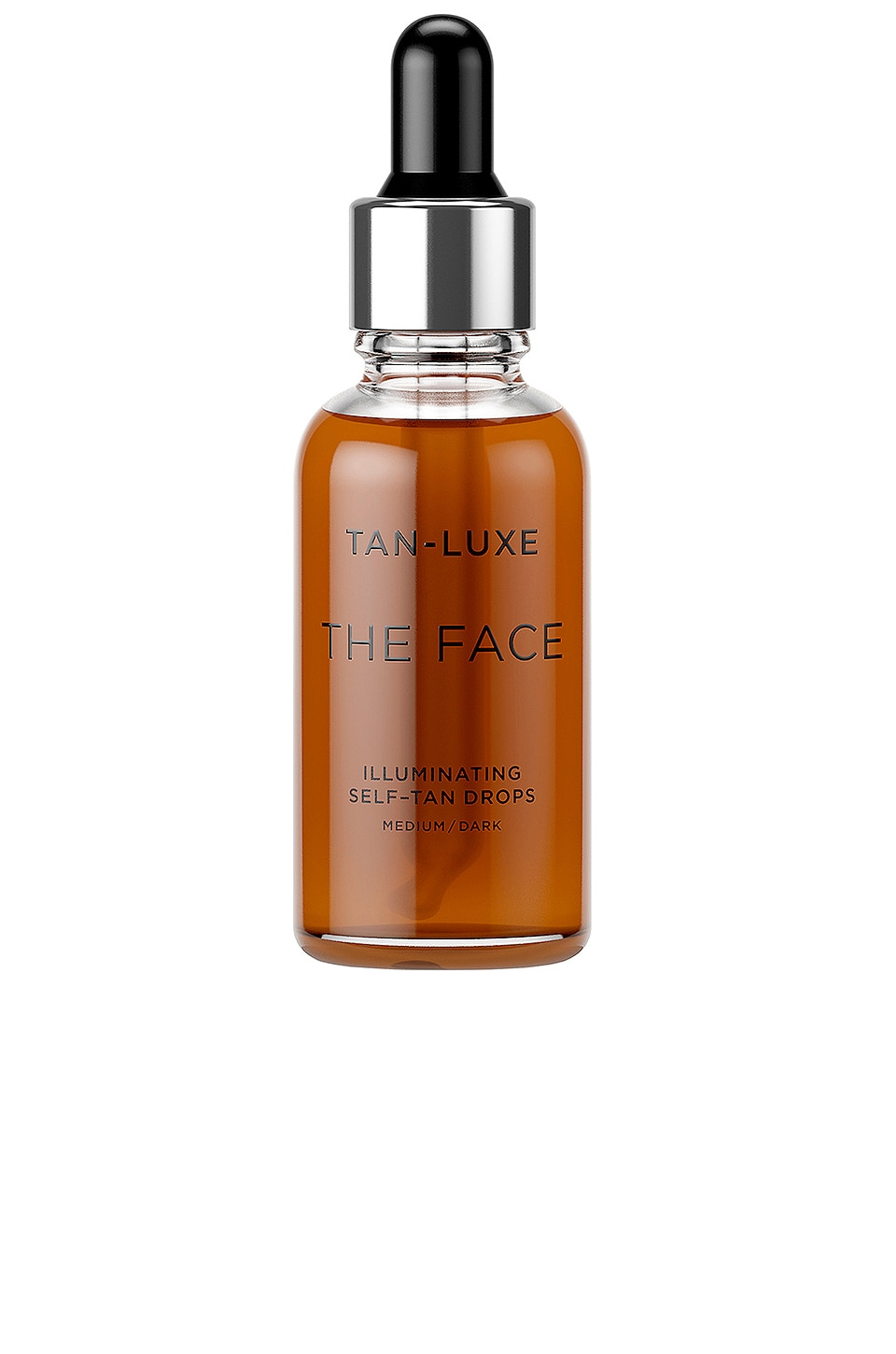 Tan Luxe The Face Illuminating Self-Tan Drops in Medium / Dark